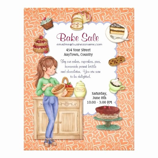 Bake Sale Flyer Ideas Fresh Best 25 Bake Sale Flyer Ideas On Pinterest