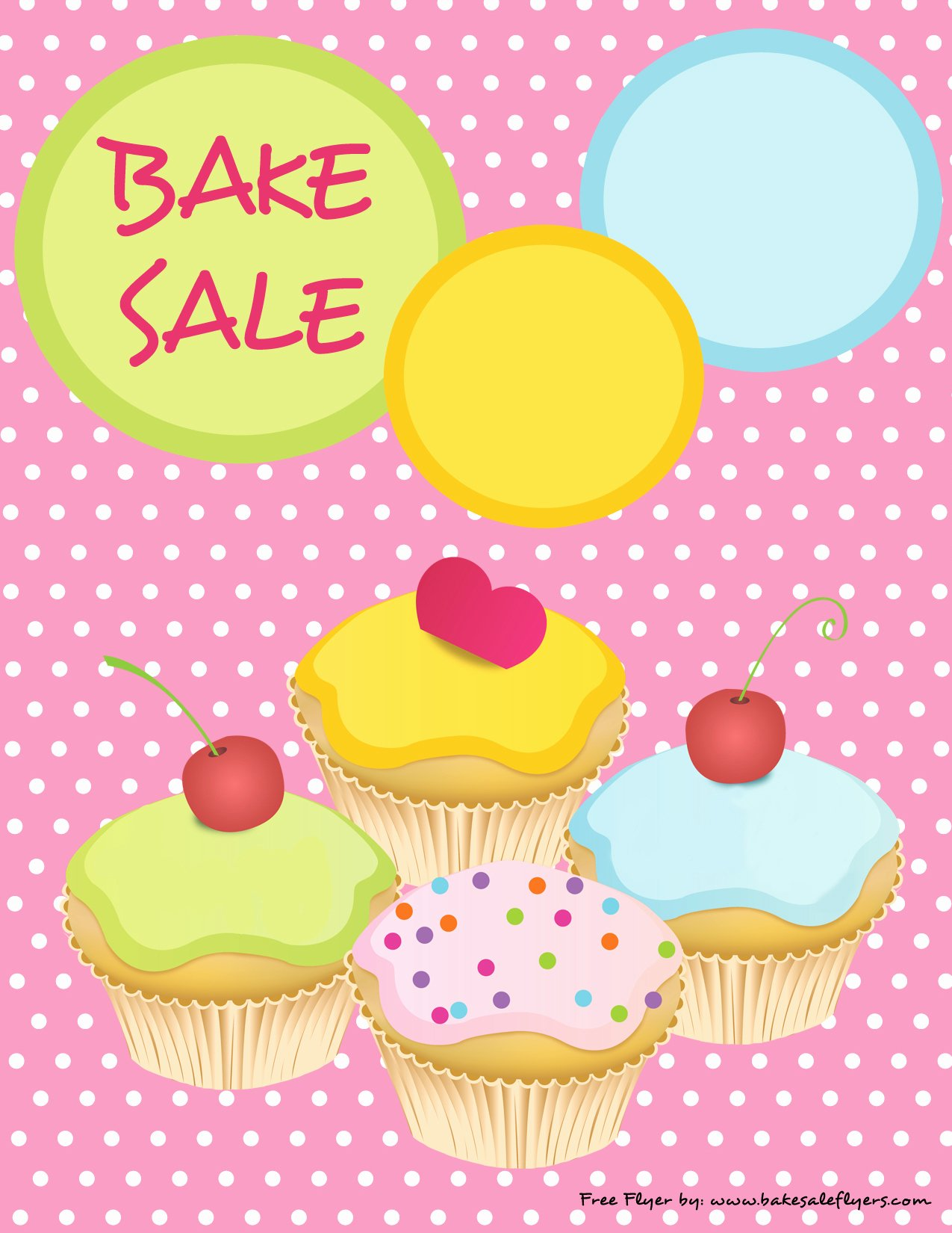 Bake Sale Flyer Template Free Beautiful Bake Sale Flyers – Free Flyer Designs