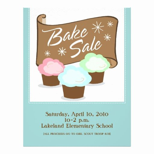 Bake Sale Flyer Template Free Elegant Bake Sale Flyers
