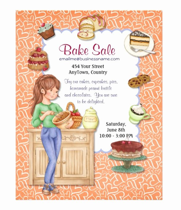 Bake Sale Flyer Template Free Fresh 33 Bake Sale Flyer Templates Free Psd Indesign Ai