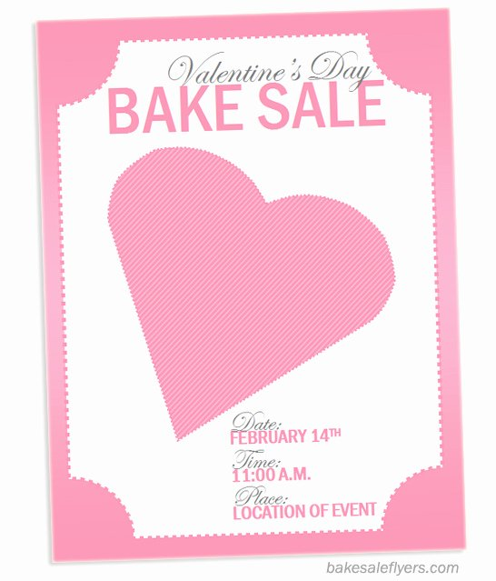 Bake Sale Flyer Template Free Luxury Bake Sale Flyers – Free Flyer Designs