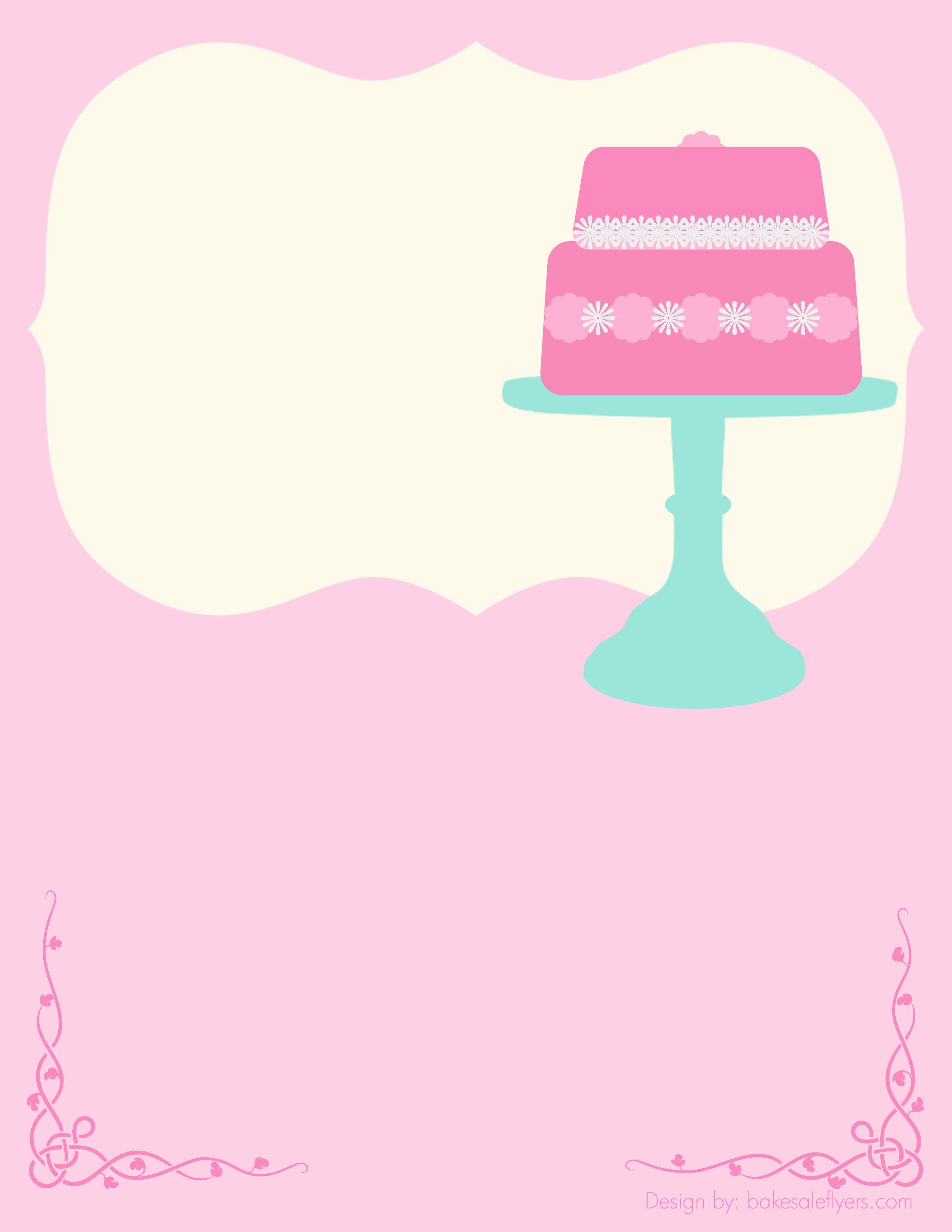 Bake Sale Flyer Templates Free Elegant Bake Sale Flyers – Free Flyer Designs