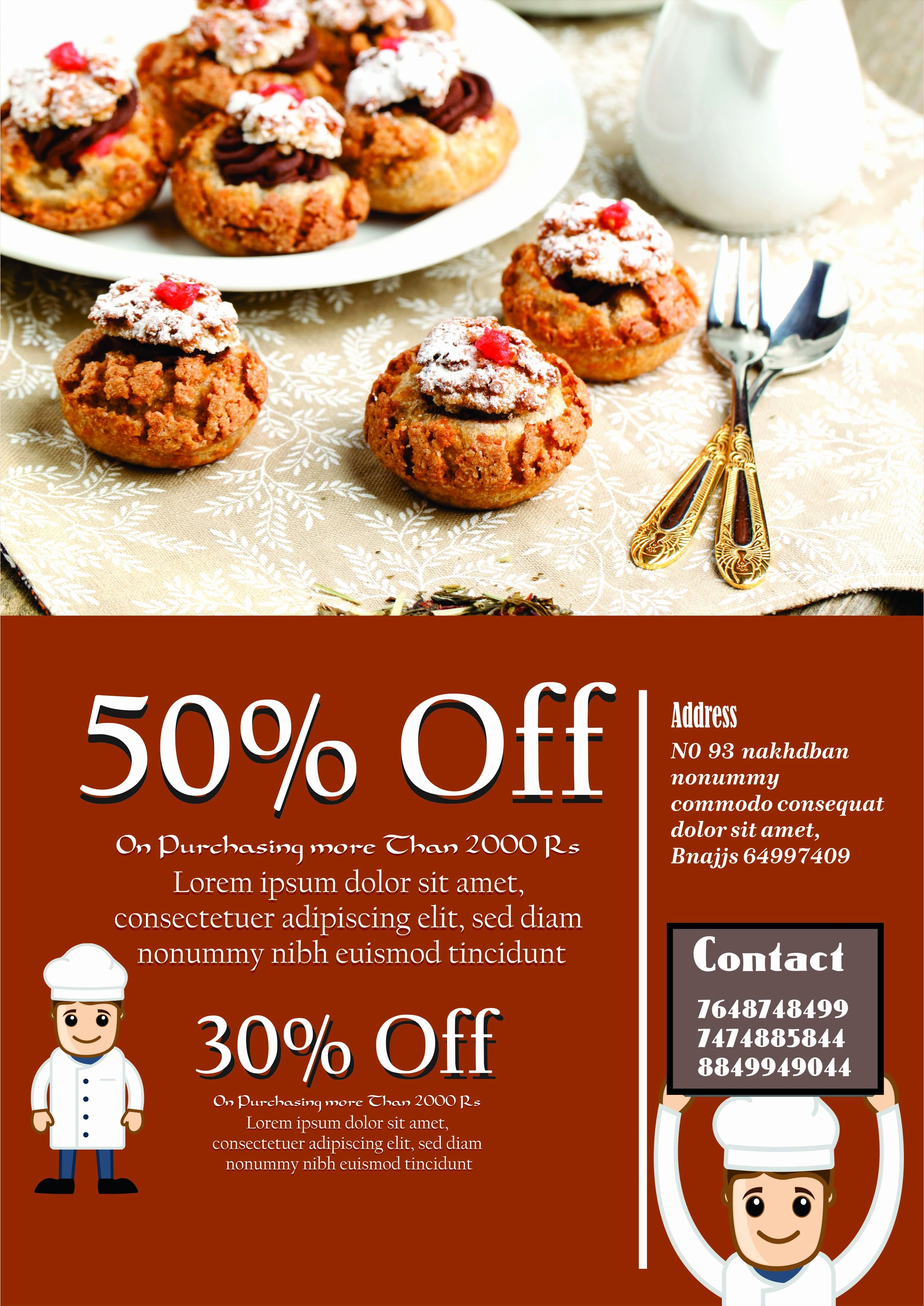 Bake Sale Flyer Templates Free Luxury Engaging Free Bake Sale Flyer Templates for Fundraising