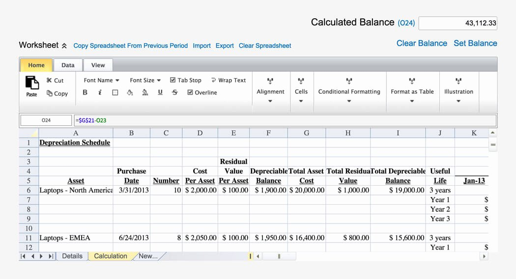 Balance Sheet Reconciliation Template Beautiful Account Reconciliation software Automated Process