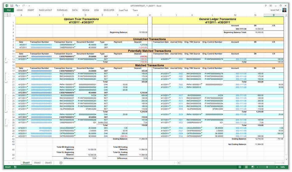 Bank Ledger Template Inspirational 5 General Ledger Templates Word Excel Pdf Templates