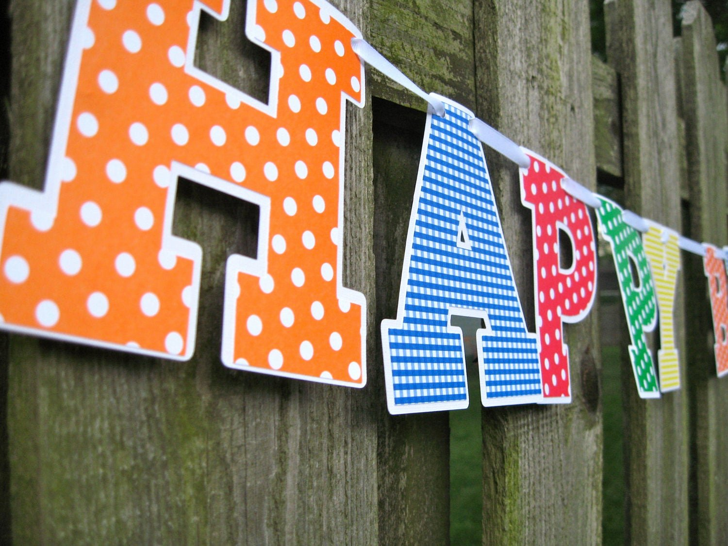 Banner Cut Out Beautiful Items Similar to Birthday Banner Primary Colors Cut