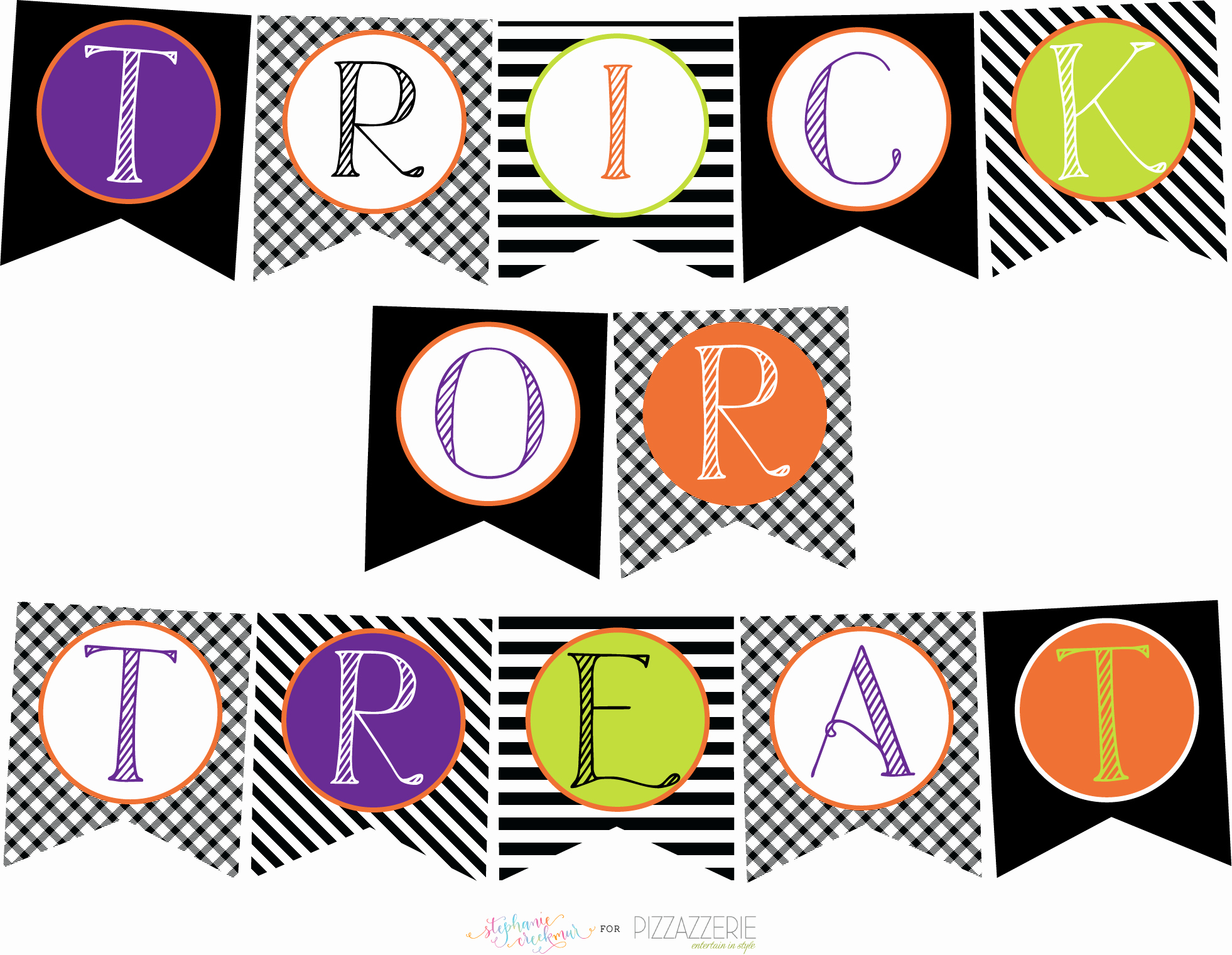 Banner Cut Out Lovely Download Free Halloween Printables Collection