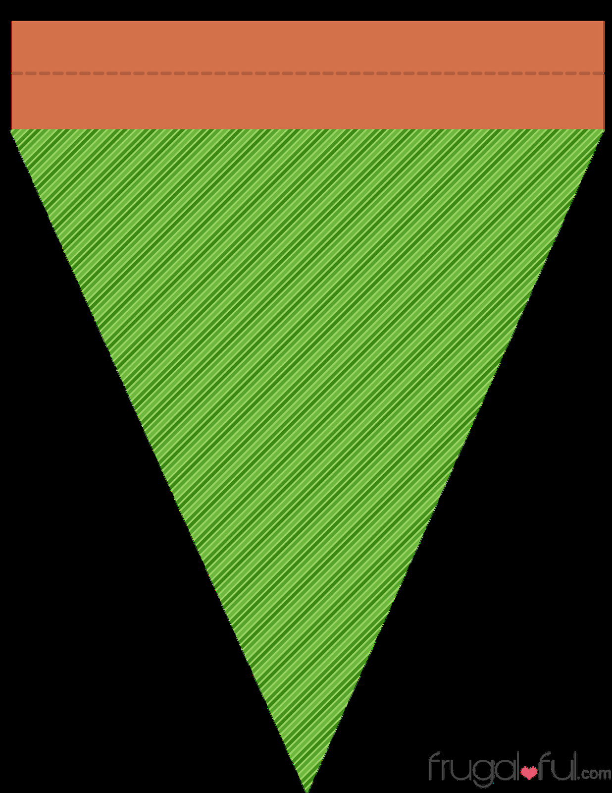 Banner Triangle Template Beautiful Diy Free Printable Halloween Triangle Banner Template