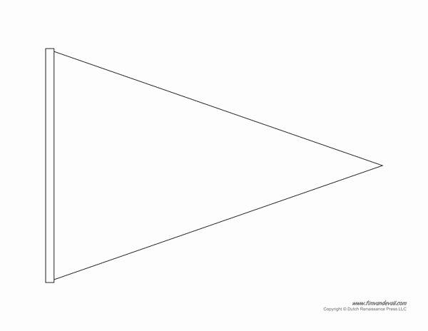 Banner Triangle Template Inspirational Best 25 Pennant Banner Template Ideas On Pinterest
