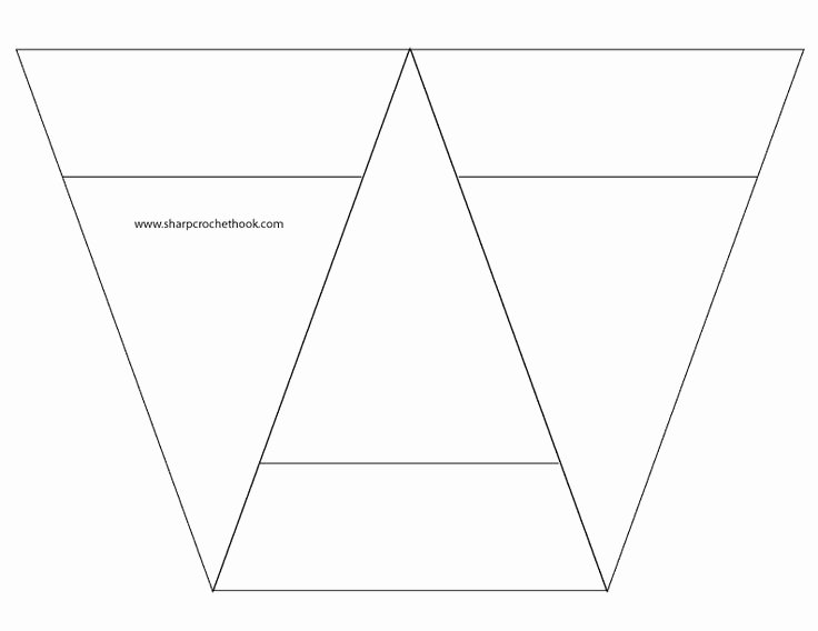 Banner Triangle Template Unique Best 25 Pennant Banner Template Ideas On Pinterest