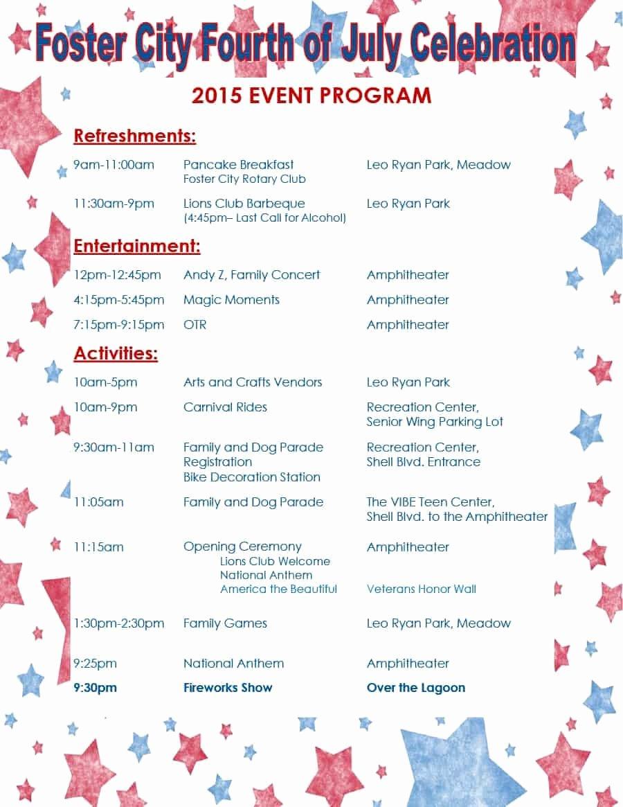Banquet Program Template Beautiful 40 Free event Program Templates Designs Template Archive
