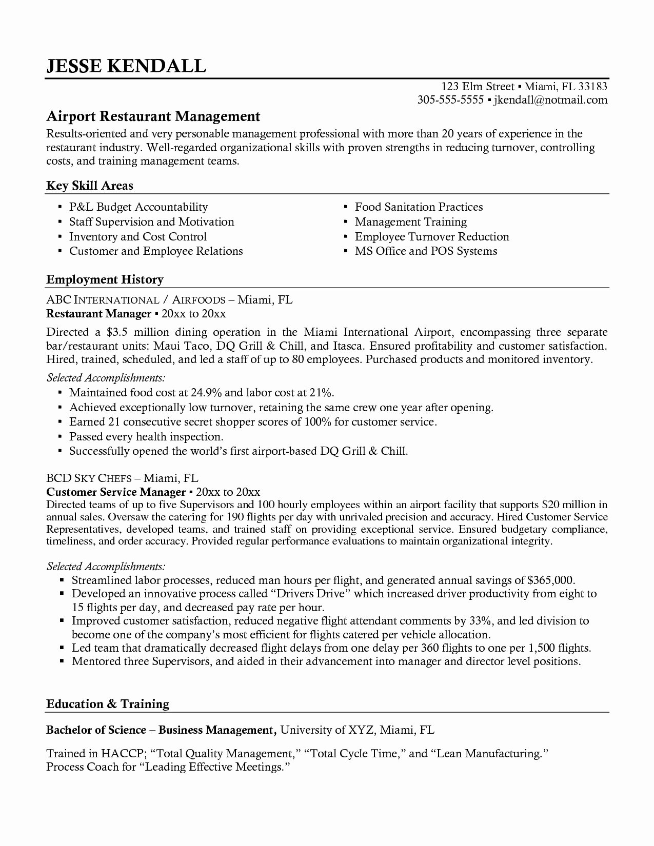 Bar Manager Job Description Resume Best Of Restaurant General Manager Resume Hirnsturm