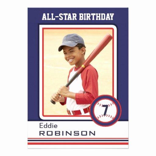 "Baseball Card Size Template Inspirational Mock Baseball Card Birthday Alternative Layout 5"" X 7"