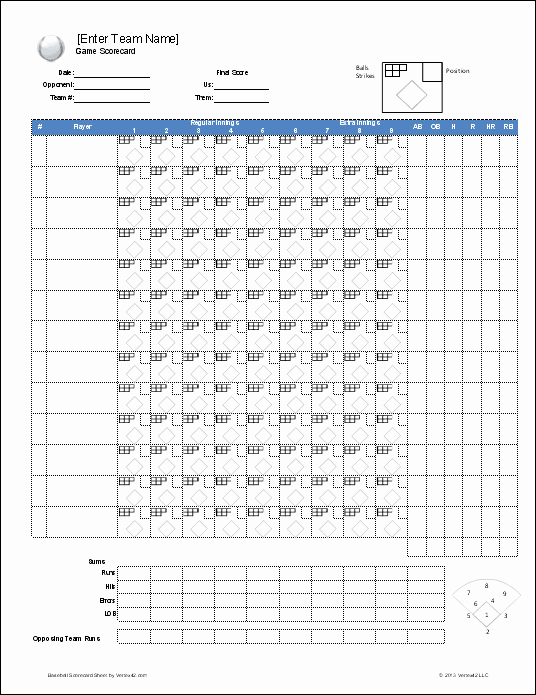 Baseball Depth Chart Template Excel Unique Download A Free Baseball Roster Template for Excel