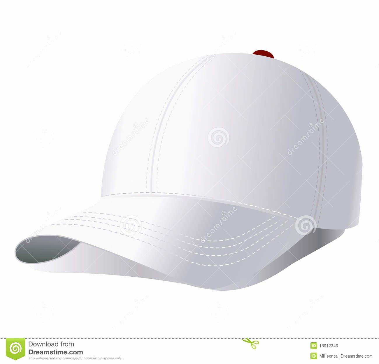 Baseball Hat Vector Best Of Vector Baseball Cap Stock Vector Illustration Of Clothing