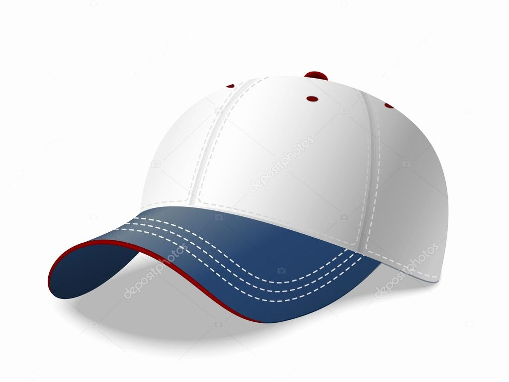 Baseball Hat Vector Elegant Baseball Cap Vector — Stock Vector © Realvector