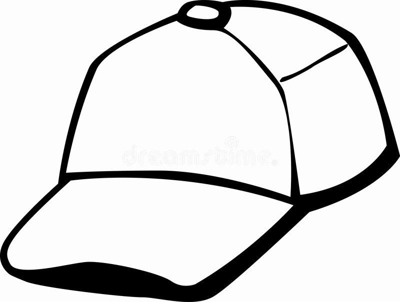 Baseball Hat Vector Fresh Trucker Baseball Cap Vector Illustration Stock Vector