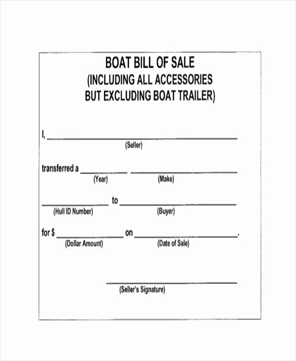 Basic Bill Of Sale Awesome Sample Bill Of Sale form 11 Free Documents In Word Pdf