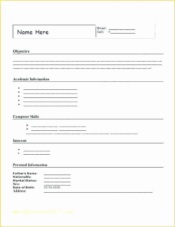 Basic Job Application Unique Employment Application Template – Ddmoon