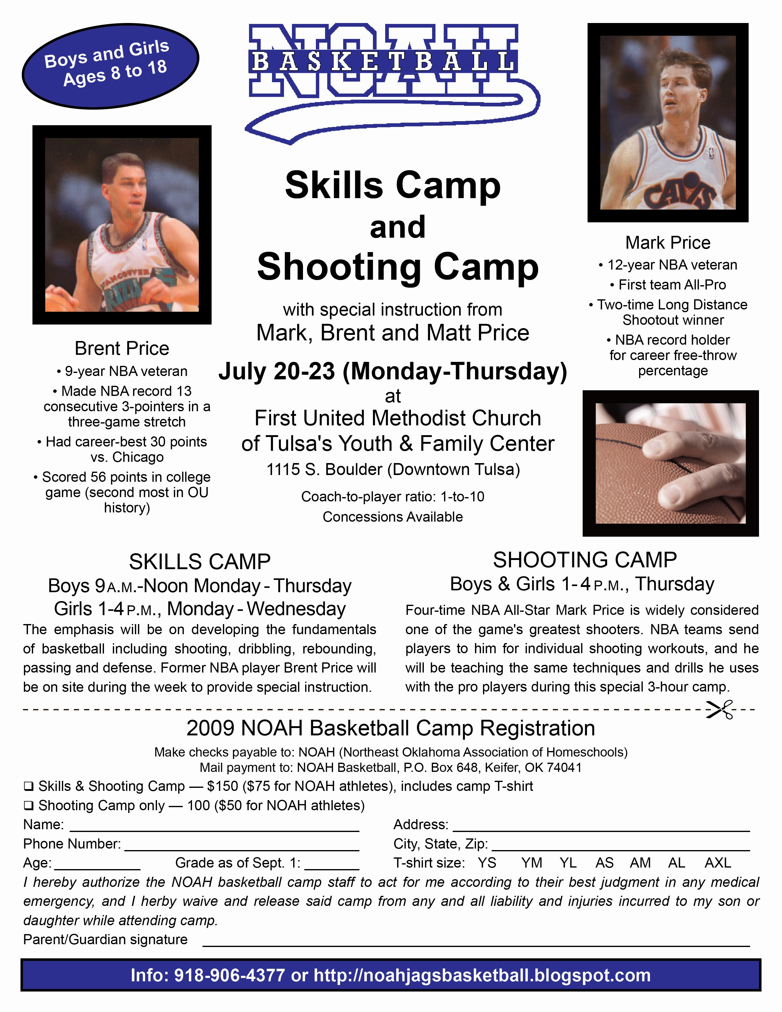 Basketball Camp Flyer Template Awesome Noah Baksetball Camp Flyer – Rfdesign08