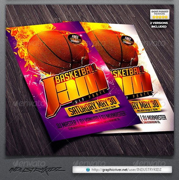 Basketball Camp Flyer Template Best Of 24 Basketball Flyer Templates to Download