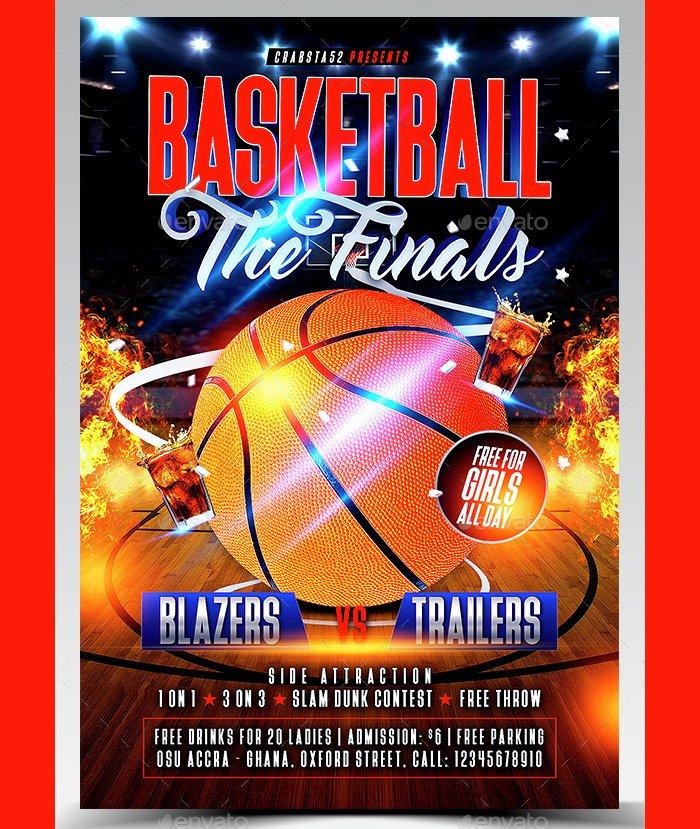 Basketball Camp Flyer Template Best Of 36 Basketball Flyer Psd Templates Free & Premium Designyep