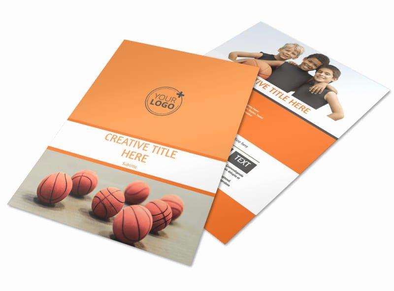 Basketball Camp Flyer Template Fresh Basketball Camp Flyer Template