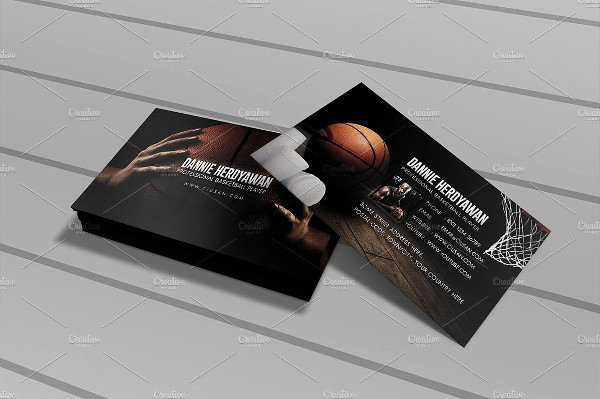 Basketball Card Template Awesome Basketball Card Template 11 Free Psd Eps Vector