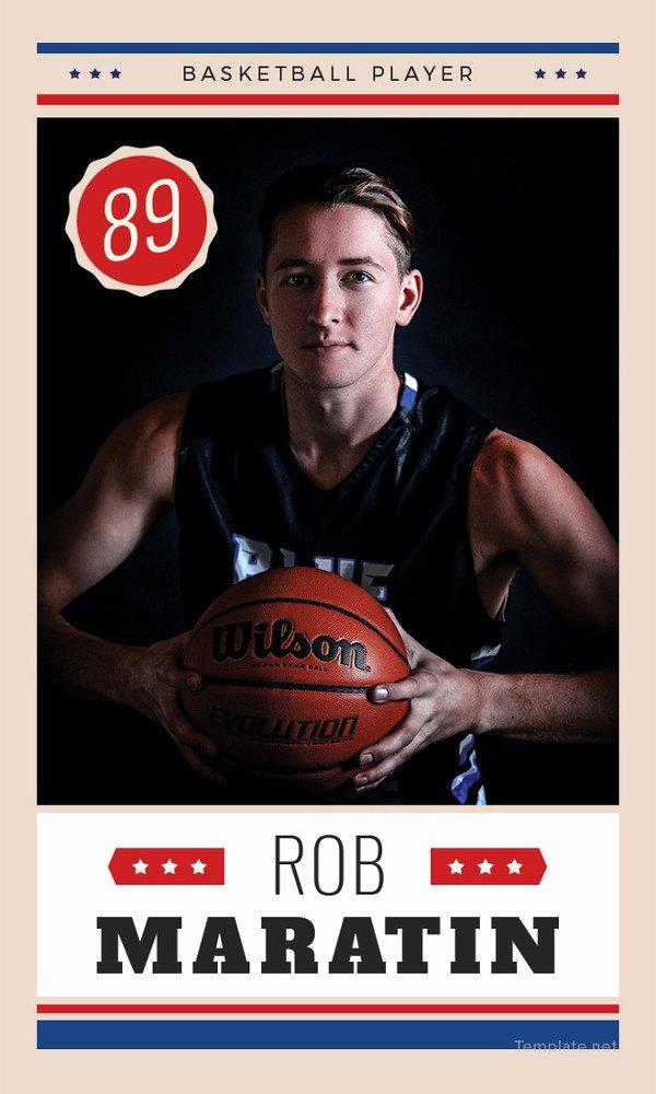 Basketball Card Template Beautiful 33 Trading Card Template Word Pdf Psd Eps