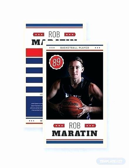 Basketball Card Template Best Of Basketball Net Template