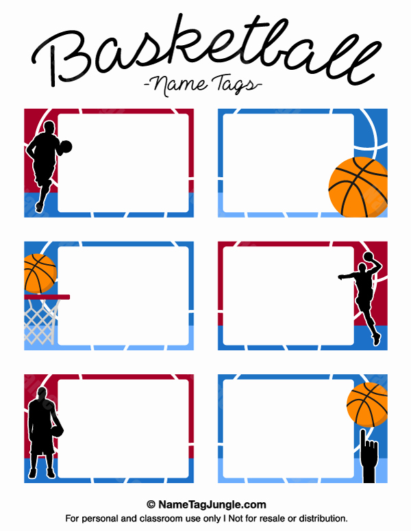 Basketball Card Template Luxury Pin by Muse Printables On Name Tags at Nametagjungle