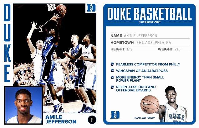 Basketball Card Template Luxury Un Mon Thinking Archive Duke Basketball – Design Services