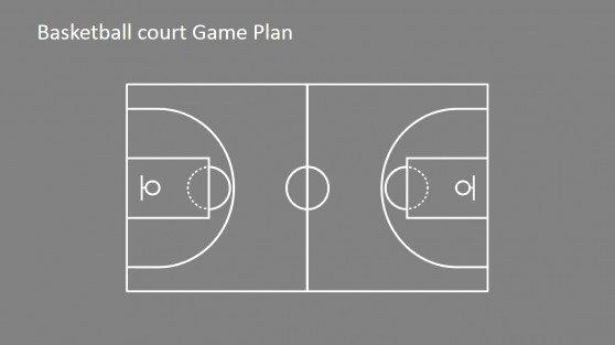 Basketball Court Design Template Elegant Court Powerpoint Templates