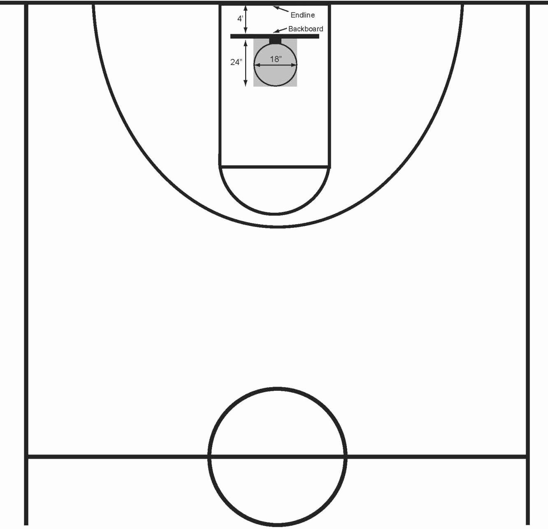 Basketball Court Design Template Fresh Basketball Court Clipart Clipart Suggest