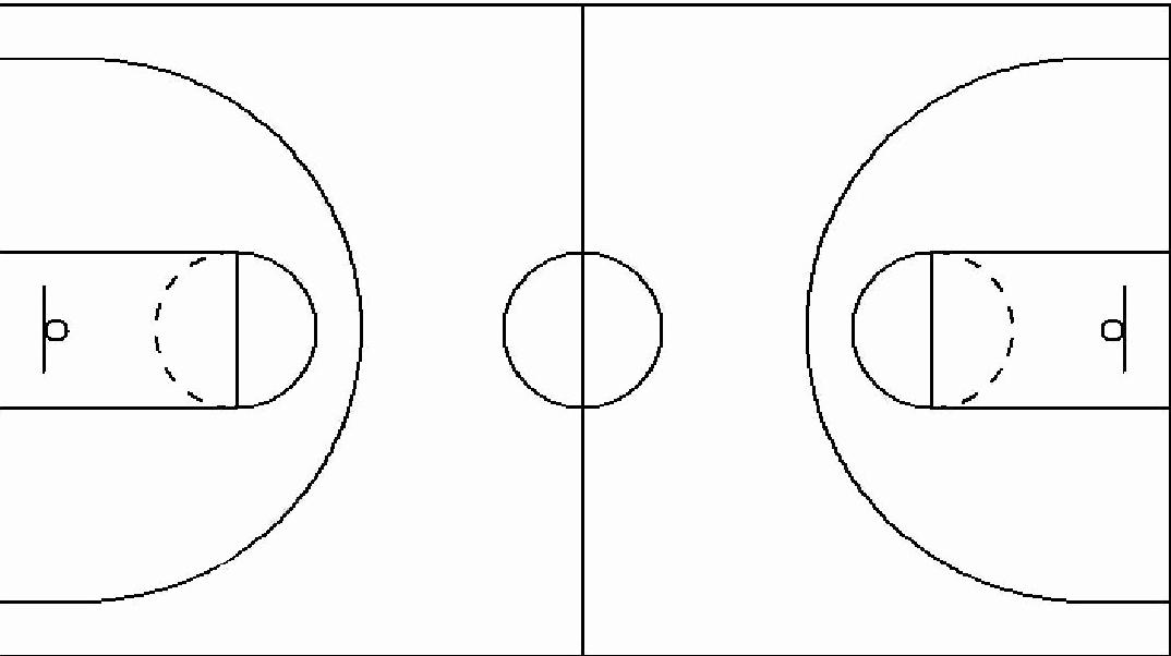 Basketball Court Design Template New Basketball Court Dimensions