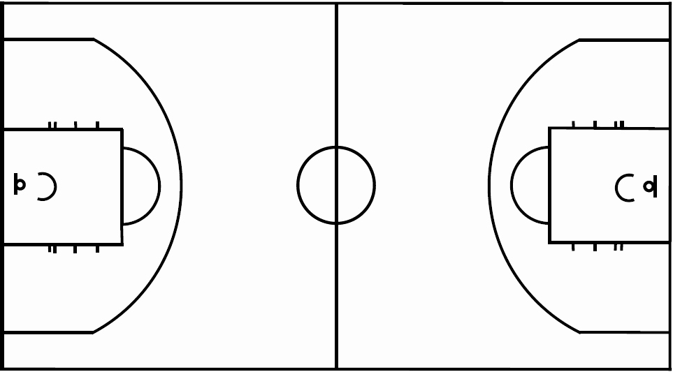 Basketball Court Design Template New Basketball Court Layout Printable