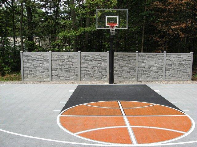 Basketball Half Court Rug Beautiful Outdoor Half Court Basketball