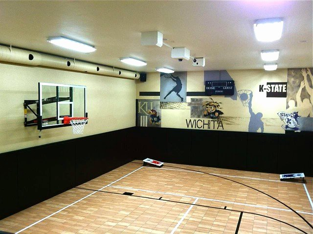 Basketball Half Court Rug Fresh Indoor Home Court for All Sports by Snapsports