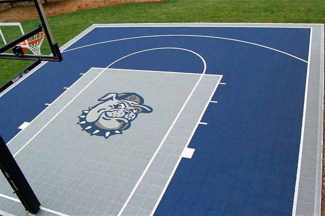 Basketball Half Court Rug Fresh Snapsports Home Basketball Court W Custom Logo