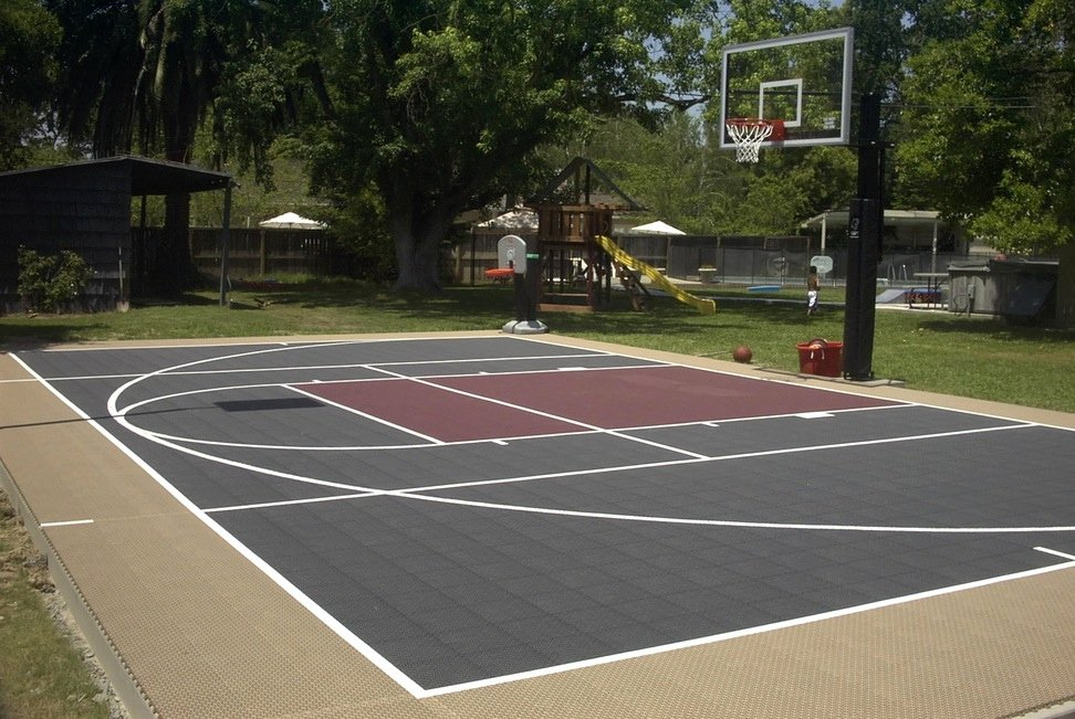 Basketball Half Court Rug Inspirational Give Your Family the Ultimate Holiday Gift A Backyard