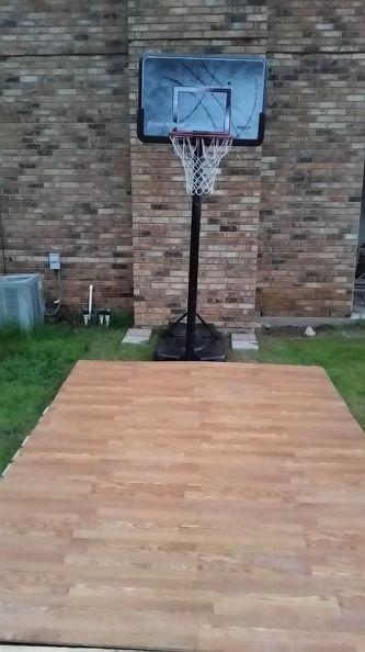 Basketball Half Court Rug New Diy Pallet Basketball Court James