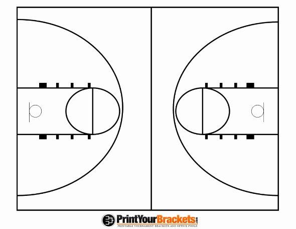 Basketball Play Diagram Fresh Printable Basketball Court Diagram