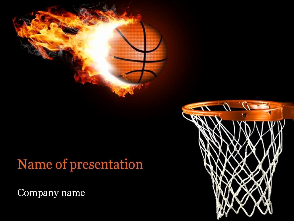 Basketball Powerpoint Template Awesome Basketball Powerpoint Template Templates