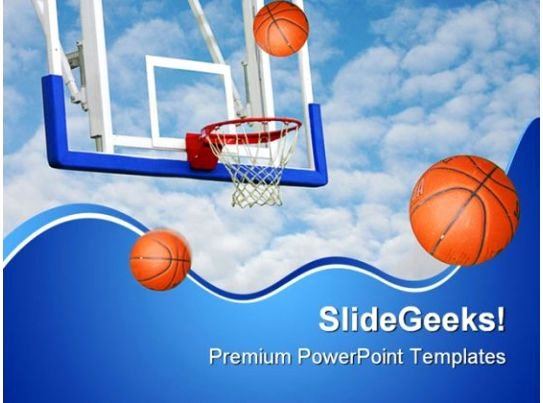 Basketball Powerpoint Template Best Of Basketballs Net Sports Powerpoint Backgrounds and
