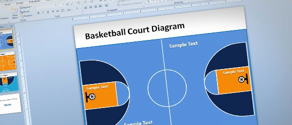 Basketball Powerpoint Template Best Of Free Basketball Court Powerpoint Template