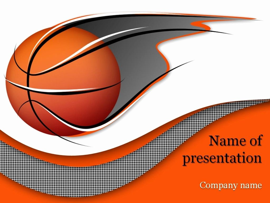 Basketball Powerpoint Template Lovely Basketball Powerpoint Template Templates