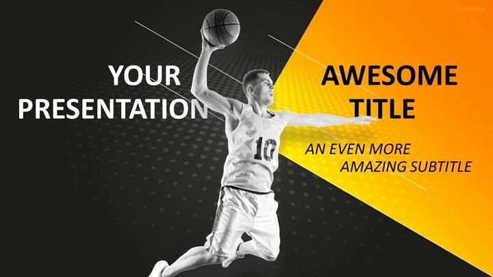 Basketball Powerpoint Template Luxury 30 Sports Mega Powerpoint Template
