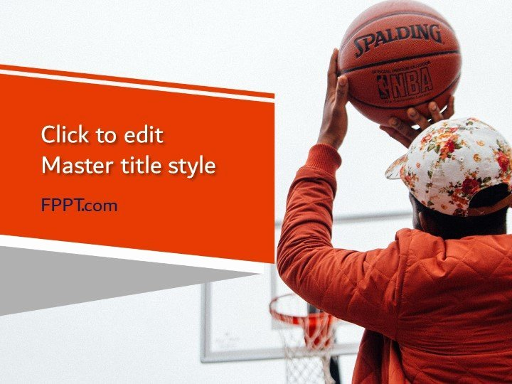 Basketball Powerpoint Template Luxury Free Basketball Powerpoint Template Free Powerpoint