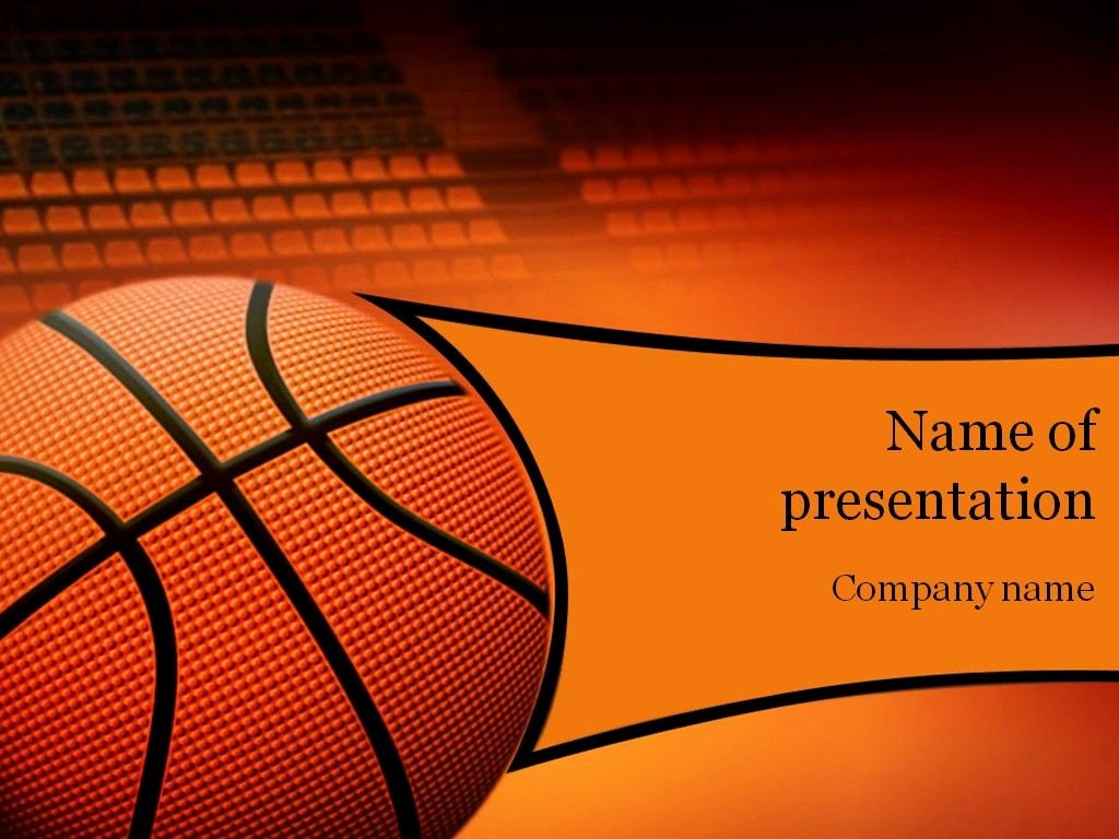 Basketball Powerpoint Template Unique Basketball Game Powerpoint Template