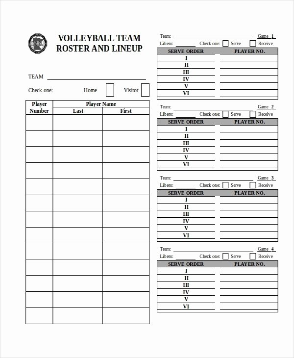 Basketball Practice Schedule Template Awesome Team Roster Template Free Download Aashe